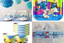 Smurf Birthday Party Inspiration / by Carol Thacker