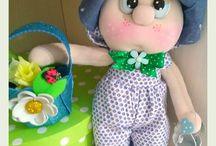 Biancanuvola creazioni handmade / Bambole cucito creativo