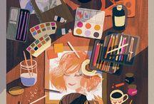 artists' workspaces