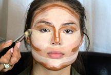 All about face contouring and make-up