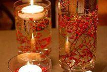 POA Christmas party ideas / Center Pieces / by Linda Carter