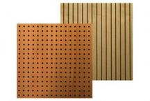 "Wooden Acoustic Panel ""WP"" / Room Acoustics -Wooden Acoustic Panel: ALPHAcoustic- WP  Available in different types and perforation, designed to improve the acoustics of a hall."