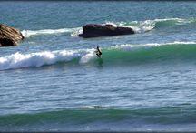 Surfing / Perfect day for surfing here on Hiriketiya beach