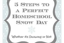#HomeschoolSnowDay / Fun snow day activities for your #homeschool - #homeschooling #homeschoolsnowday / by Alpha Omega Publications Homeschool