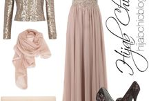 Hijabi Fashion/Outfits / Hijabi girls love to dress up as well;)