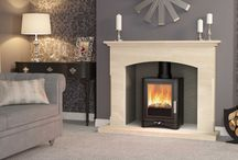 Evolution 5 Collection / A stunning multifuel stove, available with Log store or Deluxe glass top.