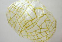 Sculpture gonflable