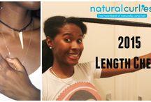 lenght check natural black hair