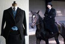 sidesaddle clothes / riding habits