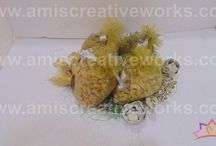 Elegant way to celebrate wedding Occasion... / Fruit Basket, Dryfruit Platter & Sweets Platter