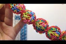 Rainbow Loom - Bracelets