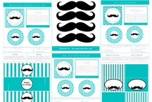 Moustache birthday party