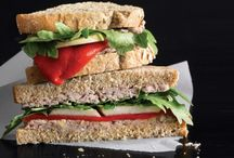 Food: Sandwiches, Wraps, and Tartines (Vegetarian or Vegan) / by Kelly N Z Rickard