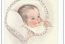 BEBES Images / Sur le thème des bébés, naissance,baptème pour réalisation Pergamano Babies, birth, creations and patterns pergamano