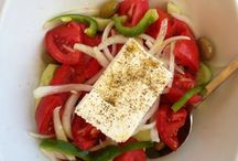 Greek salads / food salad greece