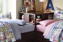 Short / Little girls earthy bedrooms