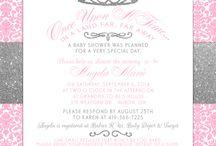 Princess, Pink, & Glitter ♥ Baby Shower Ideas