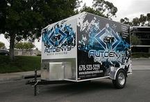 Auto Detailing Trailer & Van Wraps