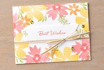 Blooms & Wishes / Stempelset Stampin Up