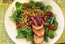 Přílohový salátek / Každý den připravujeme čerstvé přílohové salátky dle fantazie šéfkuchařky