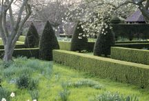 Gardens / Beautiful gardens we dream of walking through... (and maybe stopping for a picnic)...