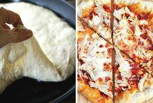 Pizza,Überbackenes