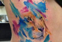lions designs tattoo