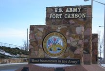 CoSprings Military Bases / Colorado Springs is a great military town. Let's salute our friends and neighbors here in Colorado Springs and in the service! / by All Seasons LLC CRMC