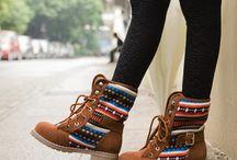 Combat boots :)