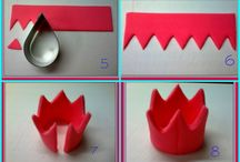 How to make crown.