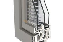 Puertas, Ventanas y Cerramientos / Puertas, ventanas y cerramientos, detalles, cortes de perfil, materiales, PVC, PVC Aluminio, Aluminio y madera