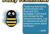 Buzzy Testimonials / Here the stories of how Buzzy helps others around the world!