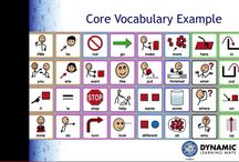 Core Vocabulary in AAC / Core vocabulary resources for AAC.