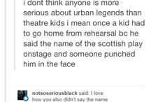 theatre nerds