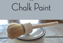 Wax to Chalk Paint