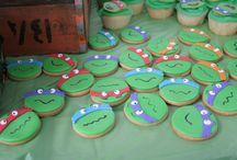 Noah's Teenage Mutant Ninja Turtle Party
