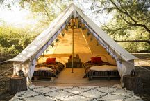 Luxe glamtent 2 pers