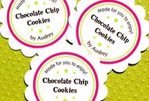 Packaging, Sticker & Label Ideas