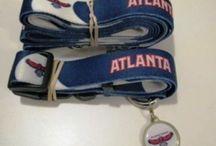 NBA Basketball Dog Collars / http://sportsfandogcollars.com/store/category/nba-basketball-dog-collars/