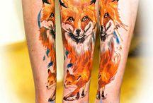 Realistic Tattoos / Animal realistic color and black n grey hyperrealistic beatiful portrait tattoos