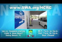 SWA Educational Videos and Ads / Videos and ads produced by the Solid Waste Authority of Palm Beach County, Florida