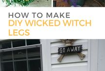 DIY Halloween Decorations / The countdown begins! Halloween parties are right around the corner- save money & start getting DIY Halloween decor ready now.