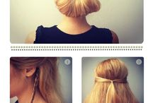 Bridesmaids hair ideas