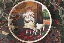 Victorian Childhood Royal Doulton Plates