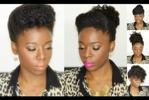 How to Style, Grow & Manage Natural Hair! / Video & Picture Tutorials