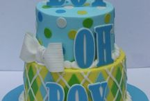 Cakes: Baby Shower / NOT my work. Just gorgeous cakes I love. / by Sheena House
