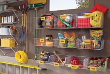 Garage Organization / by Karen Dimatteo