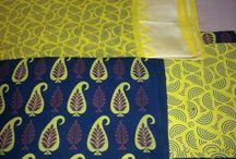 Block Printed Salwar Suit Dress Material