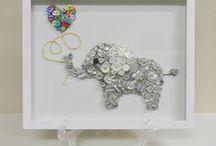 Button Craft - Animals