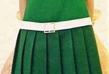 vinjett  / Inspiration inför ett skolarbete om 60-tals mode